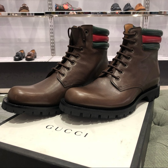 8deac4863 Brown Gucci Marland Boots